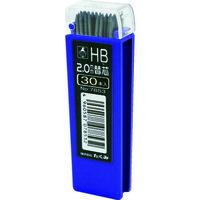 たくみ ノック式鉛筆 替芯 HB 30本入 7853 1パック(30本) 137-2845(直送品)