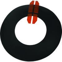 日東エルマテ 配管用防水部材 LSパイプスハット 厚み2.5mm×外径190mm×中央穴径93mm(20枚入) HAT100 160-7653(直送品)
