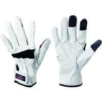 林商事 ペンギンエース 豚革手袋 レスキューフォース ブラック RF-1 BLK L 1双 149-2214(直送品)