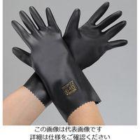 エスコ(esco) [M/330mm] 手袋(耐透過・耐溶剤・ブチルゴム) 1セット(2双) EA354BF-56(直送品)