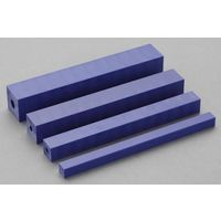 エスコ(esco) 10x10x500mm ポリ塩化ビニール角材 1セット(10本) EA441EC-10(直送品)