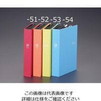 エスコ(esco) L判3段 アルバム(ブルー) 1セット(4個) EA762CW-54(直送品)