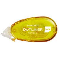 コクヨ テープのり<ドットライナーコンパクト>(本体・弱粘着) タ-DM4510-08N 1セット(10個)(直送品)