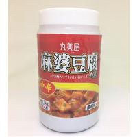 丸美屋フーズ 麻婆豆腐の素 中辛 (ポリ容器入) 1kg 1セット(1kg×4個入り)(直送品)