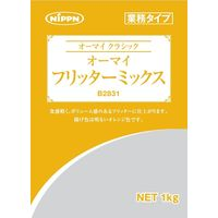 日本製粉 B2831オーマイフリッターミックス 1kg 1セット(1kg×5個入り)(直送品)