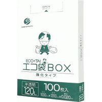 サンキョウプラテック 120L箱タイプ0.020厚100枚半透明 BX-1230 1セット(300枚:100枚入×3箱)(取寄品)