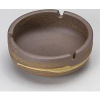 みのる陶器 サビ鉄鉢三ッ切灰皿 4965583901495 1セット(3個入)(直送品)