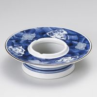 みのる陶器 末広山水7.0灰皿 4965583901372 1セット(2個入)(直送品)