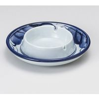 みのる陶器 フジぶどう5.0灰皿 4965583901426 1セット(3個入)(直送品)