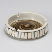 みのる陶器 O型錆十草4.0灰皿 4965583901549 1セット(5個入)(直送品)