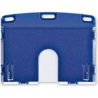 オープン工業 名札用ケース ハード(IDカード/ヨコ名刺) 青 NX-103P-BU(直送品)