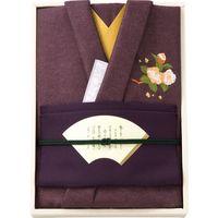 【ギフト包装】 彩美 きもの姿 ふろしき・金封ふくさセット 2061 紫(直送品)