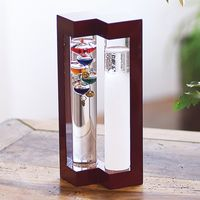 【ギフト包装】 温度計&ストームガラス 333-273(直送品)