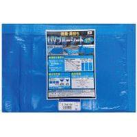 萩原工業 UVブルーシート2年タイプ 2.7m×3.6m 707296(直送品)