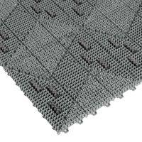 ミヅシマ工業 養生シート ブラシマットL 本体 グレー 402-2010 1セット(10ケ:1ケ×10)(直送品)