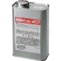 サクラクレパス サクラ 鉄鋼用マーカー補充インキ 青 HPKK1000ML-36BU 1缶 851-3337(直送品)