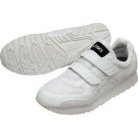 アシックス 静電気帯電防止靴 ウィンジョブ351 ホワイト×ホワイト 28.0cm FIE351.0101-28.0 515-1864(直送品)