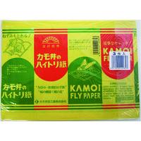 カモ井加工紙 カモ井 ハイトリ紙 平紙 HAITORIGAMIHIRAGAMI 1袋(3枚) 137-1955(直送品)