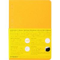 ニトムズ(nitoms) STALOGY 365デイズノートA6イエロー S4114 1冊 146-0490(直送品)
