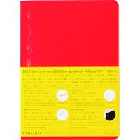 ニトムズ(nitoms) STALOGY 365デイズノートA6レッド S4112 1冊 146-0472(直送品)