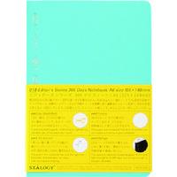 ニトムズ(nitoms) STALOGY 365デイズノートA6ブルー S4113 1冊 146-0494(直送品)