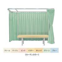 高田ベッド ドルチェAタイプ&有孔フレンド 幅70×長さ190×高さ60cm オレンジ×ピンク TB-528U 1個 61-4668-50(直送品)