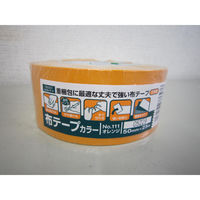 オカモト 布テープカラー オレンジ シュリンク包装 111 30巻(直送品)