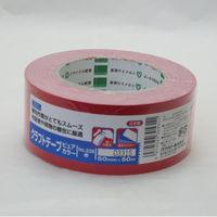 オカモト クラフトテープピュアカラー赤 シュリンク包装 228 50巻(直送品)