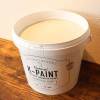 ワンウィル K-PAINT 5kg 缶 ホワイトグレー 229002(直送品)