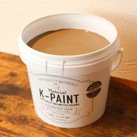 ワンウィル K-PAINT 1.5kg 缶 チャコールグレー 229048(直送品)