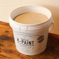ワンウィル K-PAINT 1.5kg 缶 モスグレー 229054(直送品)