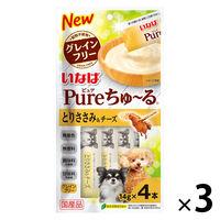 Pureちゅ~る とりささみ&チーズ3袋