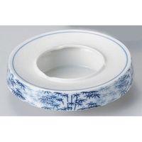 アースモス 美濃焼 灰皿 竹林5.0灰皿 (4個入)(直送品)