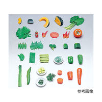 イワイサンプル フードモデル(野菜類・緑黄色野菜) かぼちゃ20g 8-1 1個 62-8600-78(直送品)