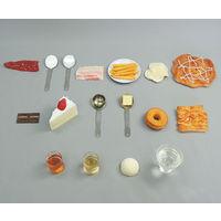 イワイサンプル フードモデル カロリーの高い食品 39 1セット 62-8602-13 ナビスカタログ(直送品)