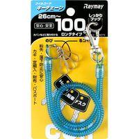 レイメイ藤井 コイルキーチェーン 100cm ブルー GLK301A 1セット(5個)(直送品)