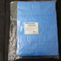 サンキョウプラテック サンキョウブルーシート薄手タイプ 5.4M×5.4M 青 BS-115454 1ベール(10枚)(取寄品)