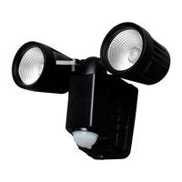 アイリスオーヤマ 乾電池式 LED防犯センサーライト LSL-B2TN-400D(270248)(直送品)