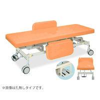 高田ベッド 電動Gカイザー 幅60×長さ180×高さ45〜83cm オレンジ TB-1125 1個 63-0382-86(直送品)