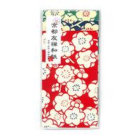 京都友禅ポチ袋 梅花 小 アソート 3枚入 PA-356 10個 エヒメ紙工(直送品)