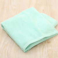 【アウトレット】オリジナル バスタオル ふわふわ ミントグリーン  1セット(10枚:1枚×10)