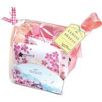 ヤマニパッケージ ぷちばすけっと 春 (1) ラッピング袋付 19-1300A 1ケース(100:50枚胴巻包装)(直送品)