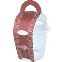 ヤマニパッケージ 花なりカップ大 栗 19-630K 1ケース(100:帯50枚包装)(直送品)