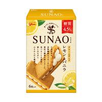 【糖質50%オフ】江崎グリコ SUNAO<クリームサンド>レモン&バニラ 1個