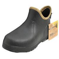 ヤマショウ 防水軽量ガーデンブーツ ブラック YRB-002B M 1箱 (3足入)(直送品)