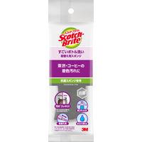 スリーエム ジャパン (3M) スコッチブライト すごい ボトル洗い グレー 取替え用 1個 キッチン スポンジ