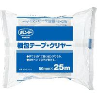 コニシ 梱包テープ クリヤー 50mm×25m #67949 1セット(2巻)(直送品)