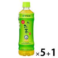 おーいお茶 緑茶 525ml 5+1本