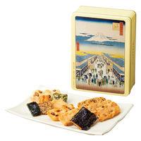 三越伊勢丹 王様堂製菓 おかき詰め合せ 東京国立博物館コラボレーションギフトOS15 手土産 母の日 父の日 敬老の日