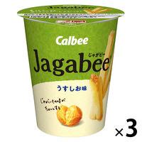 カルビー Jagabeeうすしお味 40g 3個